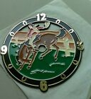 Vintage RAMAR Clock Face Rodeo Plastic 1987