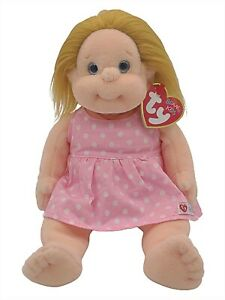 Ty Beanie Baby Kids Precious Blond Girl Collectible Plush Retired Vintage New