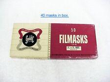 Vertical 120 Film Masks | for 120 film | use w/ 2 1/4 x 3 1/4 Slides | $9.95