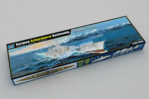 Trumpeter 03715 1:200 Scale German Scharnhorst Battleship Model Kit