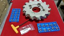 "MFPN458000R14T 8"" 14 TOOTH KYOCERA  MILLING CUTTER W/20 INSERTS KIT"
