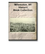 Milwaukee, WI Wisconsin + County History Culture Genealogy 14 Book Set - D41