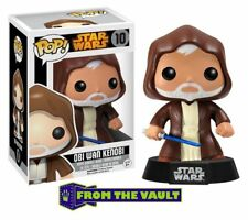 Funko POP Star Wars Obi Wan Action Figure FROM THE VAULT SHIPS NOW