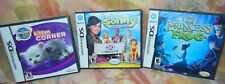 3-Disney Nintendo Ds Games Princess and the Frog/Sonny Chance & Kitten Untested