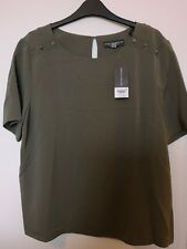 UK size 16 ladies khaki top