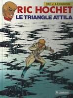 TIBET . RIC HOCHET N°45 . LE TRIANGLE ATTILA . EO . 1988 .