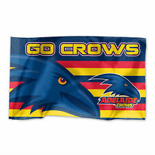 Official AFL Adelaide Crows Game Day Large Flag (NO STICK/FLAG POLE)