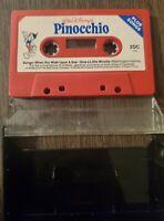 Songs From Pinocchio USA Cassette Tape Walt Disney's Disneyland 102GP