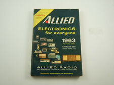 Vintage 1963 Allied Radio catalogue - Knight-Kit, tube amplifiers, 1960s