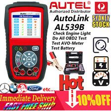 AUTEL OBD2 Engine Diagnostic Scanner Tool Fault Code Reader Car Battery Tester