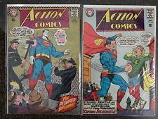 Action Comics #352 & 354, DC, Superman, Justice League
