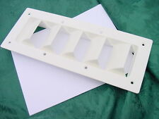 "Tollycraft Boat Vent Louver 14 x 5-5/8"" New Genuine Other boats as well. See pic"