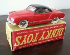 DINKY TOYS 187 - VOLKSWAGEN KARMANN GHIA COUPE NEW MINT IN BOX!!!