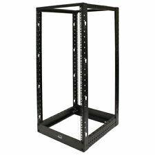 4-Post Adjustable Open Frame Server Rack IT Network Relay IT 25U 4.5ft Short
