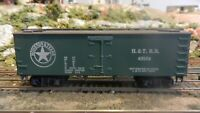 Roundhouse MDC Houston & Texas Old Time 36'  Reefer, Green Car Upgraded, Exc
