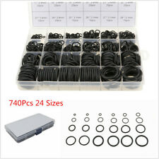 740Pcs Auto Car Air Conditioning Sealing Gasket O-Ring Rubber Seals Ring 24Sizes