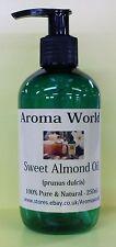 Sweet Almond Carrier Oil 250ml - Pump Dispenser