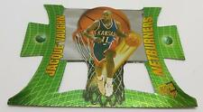 1997 NETBURNERS PRESS PASS JACQUE VAUGHN #NB14 KANSAS BASKETBALL CARD