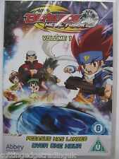 Beyblade Metal Fusion Volume 1 (DVD 2011) New Sealed PAL Region 2