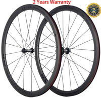 U Shape Carbon Wheels 38mm Clincher 25mm Width Wheelset Bicycle 700C Cycle Wheel