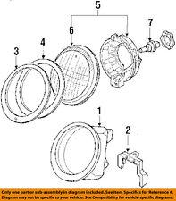 PORSCHE OEM 911 Headlight Head Light Lamp-Headlamp Mounting Seal 91163111502
