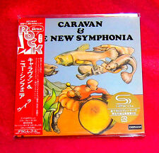 Caravan And The New Symphonia JAPAN SHM MINI LP CD UICY-94331