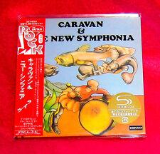 Caravan And The New Symphonia SHM MINI LP CD JAPAN UICY-94331