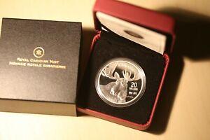 Canada 2012 Silver 20 Dollars Robert Bateman Moose