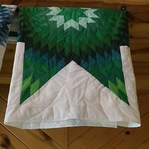 native american star quilt    please read description