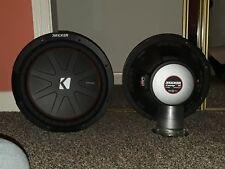 "12"" Kicker Comp R subwoofer pair"