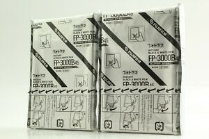 【Open Box *Set of2】 FUJIFILM FP-3000B 45 8.9x11.8cm 4x5 Expired Film from JAPAN