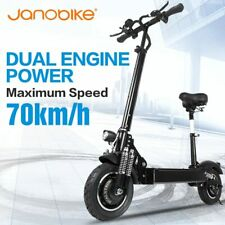 janobike electric scooter adult 52V/2000W 10 inch road tire folding electric