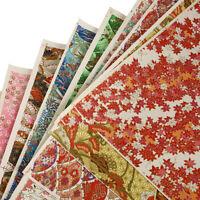 Japanisch Blume Faltpapier Blatt DIY Origami Papier Scrapbooking Kunst Bastel