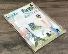 Zakka French Style Memo Note Pad 72 Pages Letter Paper Scrapbooking Message Gift