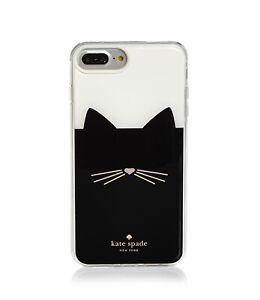Kate Spade New York 256605 Black Cat Multi Phone iPhone 7/8 Plus Case