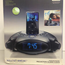 Digital Alarm Clock Projection With Docking Port for iPod