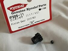 NEW KYOSHO INFERNO VE, MP9e, 11T PINION GEAR NEW IN PACKET, IF505-11
