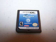 My French Coach Nintendo DS Lite DSi XL 3DS 2DS Game