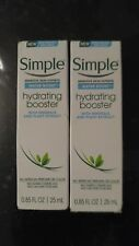 2x Simple Water Boost Hydrating Booster, Sensitive Skin 0.85 Fl Oz