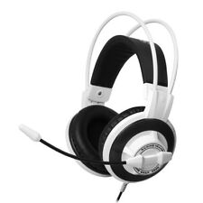 Somic G925 White Heavy Subwoofer Gaming Headphones Headset 3.5mm LED