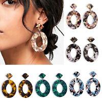 Exaggerated Geometric Hip-hop Dangle Women Ear Stud Earrings Jewelry NewJ fi