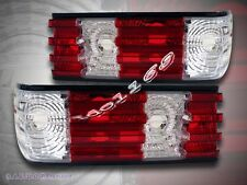 86 87 88 89 90 91 MERCEDES BENZ S-CLASS W126 RED / CLEAR TAIL LIGHTS