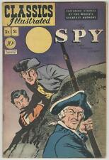 Classics Illustrated #51 September 1948 Vg The Spy