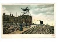 PIKE'S PEAK CO RAILROAD STATION DET PUB 1901  POSTCARD