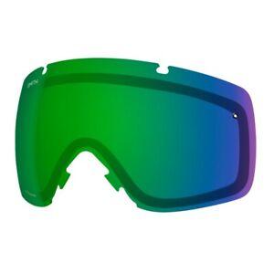 Smith Optics I/O Goggle Replacement Lens, Chromapop Sun Green Mirror, New