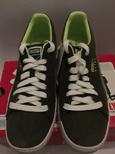 Puma Clyde Sneaker,Olive, Vintage Green , US 9.5, Puma Archive , 2005