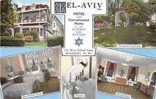 Philadelphia Pennsylvania Tel Aviv Hotel Convalescent Home Postcard J53543