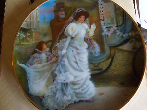 ROB SAUBER COLLECTOR PLATE JACQUELINE NEW 1986