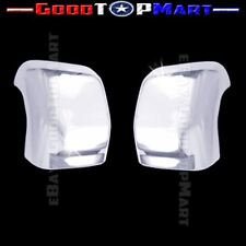 For Nissan TITAN 2016 2017 Chrome Top Towing Mirror Covers WITH Signal Fit PAIR