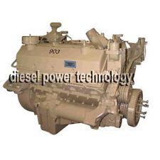 Cummins VT903C Remanufactured Diesel Engine Long Block or 3/4 Engine